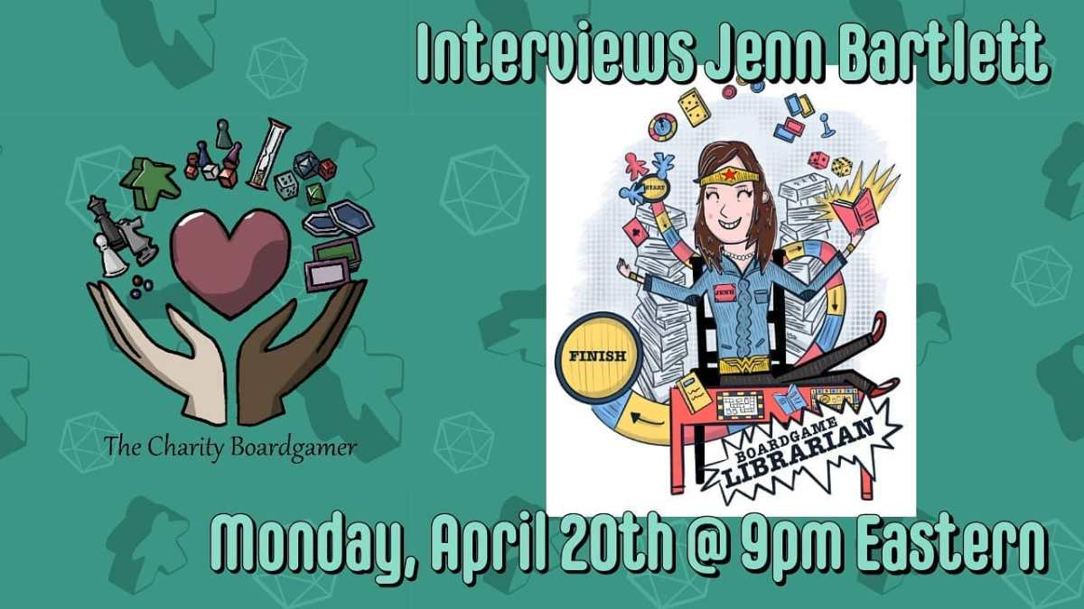 Talking with Jenn, The Boardgame Librarian